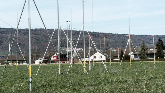 Bauprofile in einer ländlichen Gemeinde im Aargau
