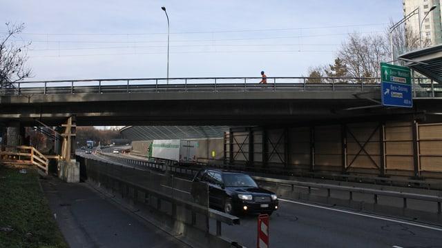 Brücke in Bern-Wittigkofen.