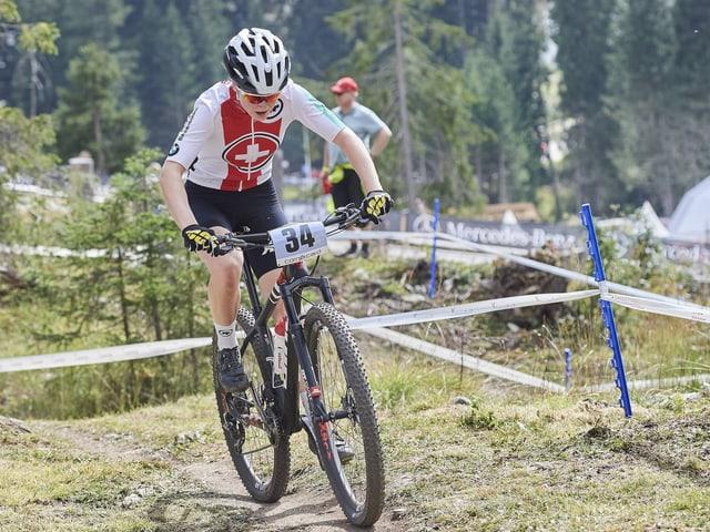 Jacqueline Schneebeli holte bereits an der EM Ende Juli die Goldmedaille.