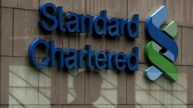 Il logo da la banca Standard Chartered