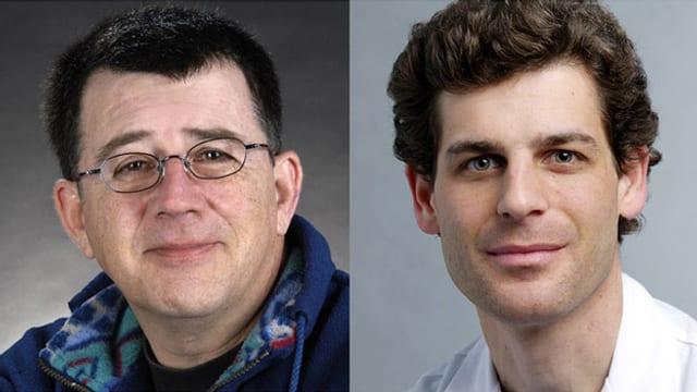 Prof. Christoph Rudin und PD Dr. Giacomo Simonetti