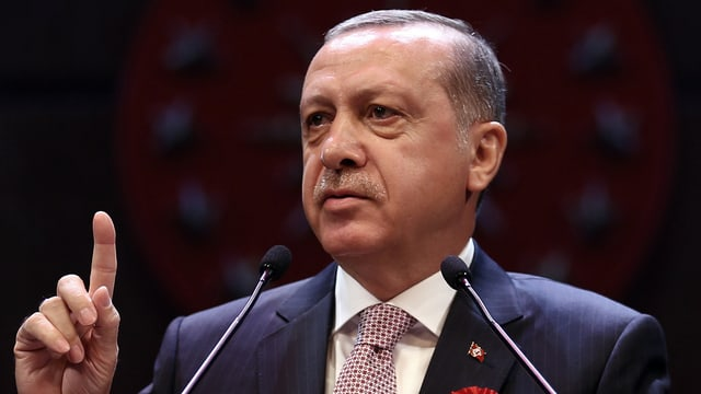 President dala Tirchia Recep Tayyip Erdogan.