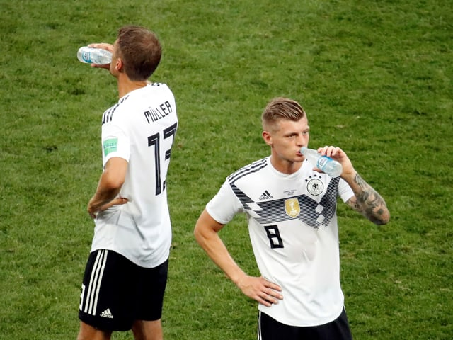Toni Kroos und Thomas Müller.