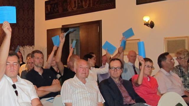 Delegiertenversammlung der Stadtzürcher SVP.