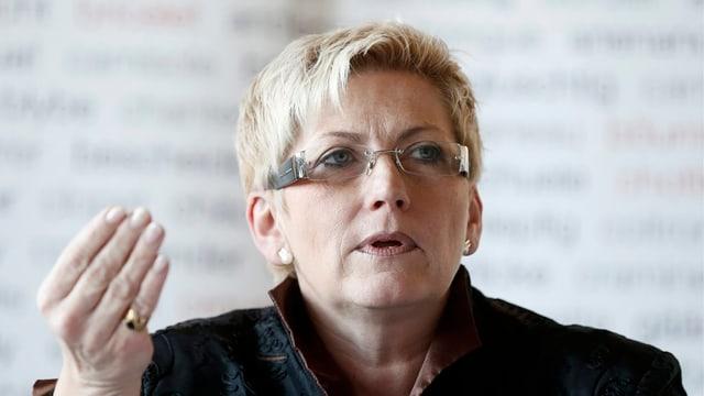Regierungsrätin Beatrice Siom spürt den Rückhalt in der Partei.