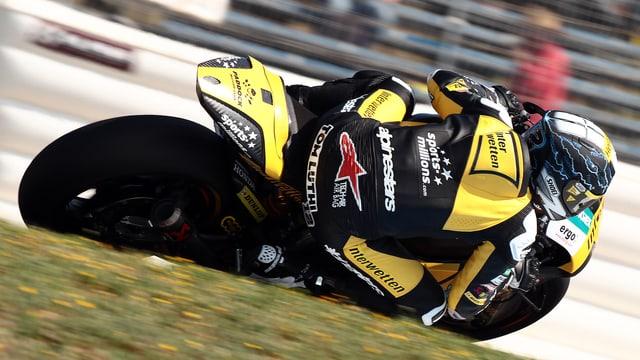 Tom Lüthi gibt in Jerez sein Comeback.