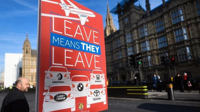 Placat dal Brexit.