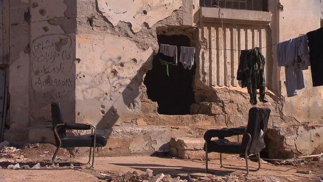 Stadtruinen in Aleppo: Die Menschen warten auf Frieden und Wiederaufbau