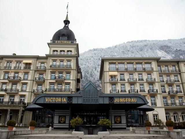 Hotel Victoria Jungfrau in Interlaken.