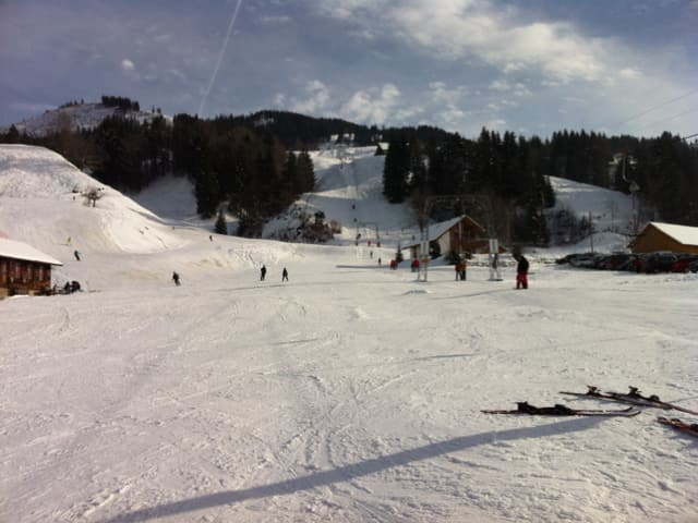 Das Skigebiet Neusell
