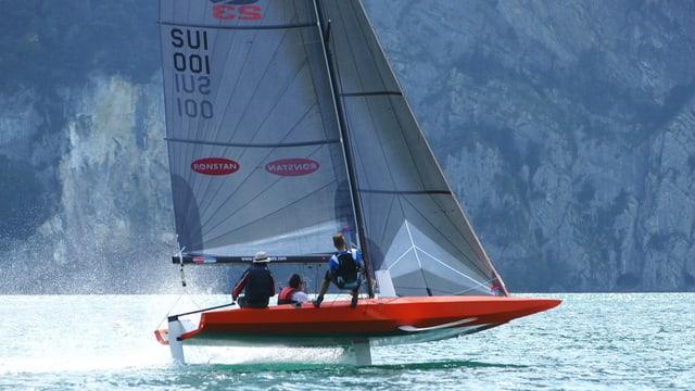 Bild des Quant 23-Segelbootes