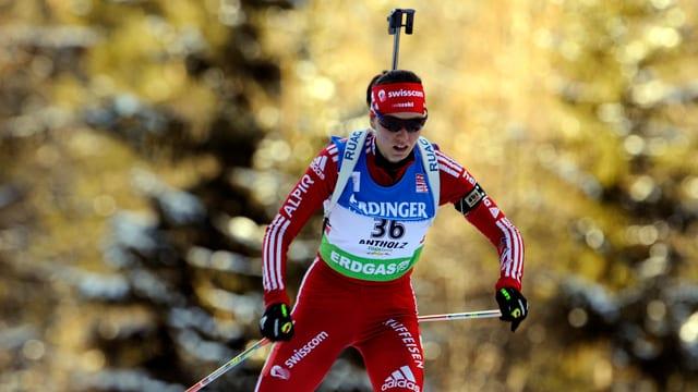 Selina Gasparin führt die Schweizer Equipe in Nove Mesto an.