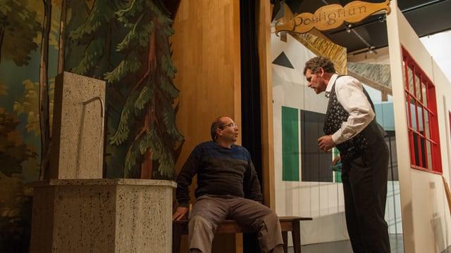 Impressiuns d'ina emprova da teater da la cumedia «1001 notg en Surselva»
