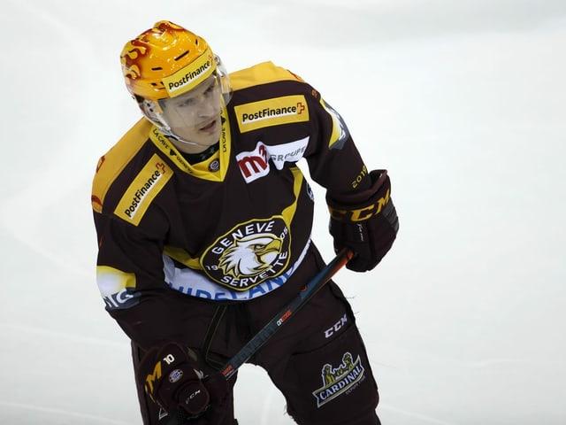 Tommy Wingels auf dem Eis.