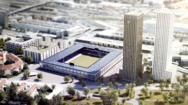 Das aktuelle Stadionprojekt «Ensemble»