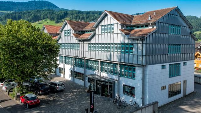Die Appenzeller Kantonalbank von aussen