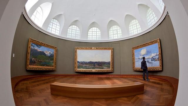 Blick in einen Ausstellungsraum