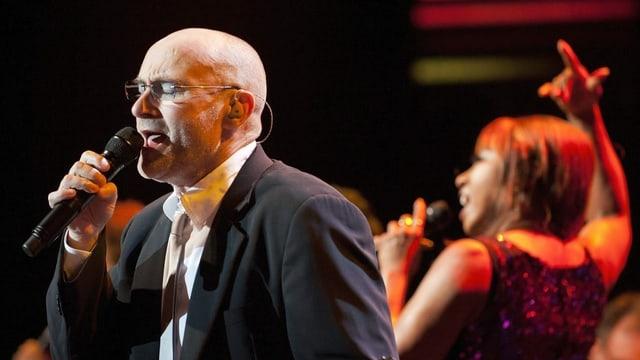 Phil Collins, il 2010 a Montreux