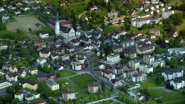 Luftbild Hitzkirch