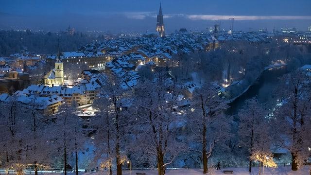 Bern verschneit