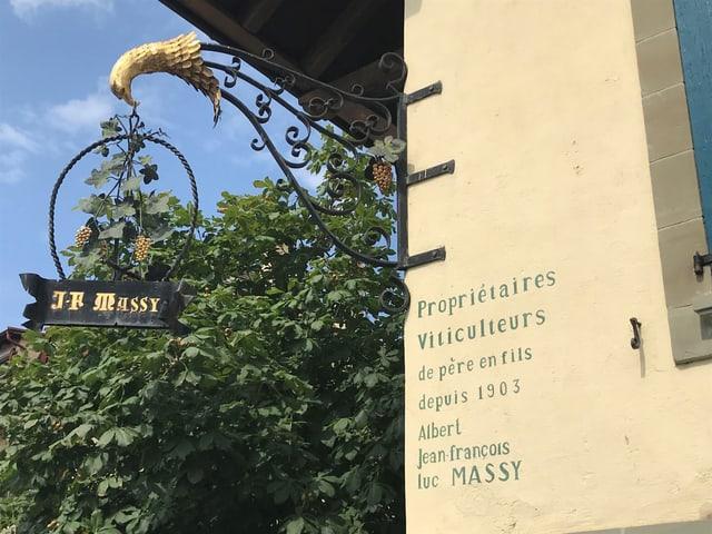 Die Fifres et Tambours sind beim Winzer Luc Massy einquartiert, der zu den besten Vignerons des Lavaux gehört.
