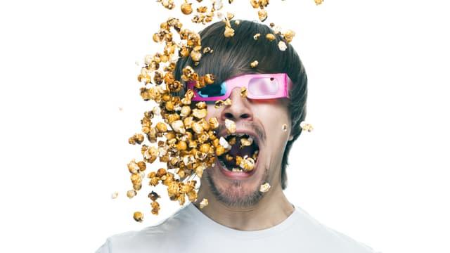 Die goldene Regel beim Snacken: Mund zu