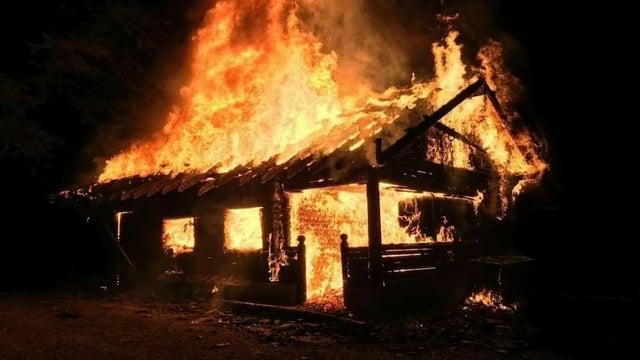 Brand Hütte