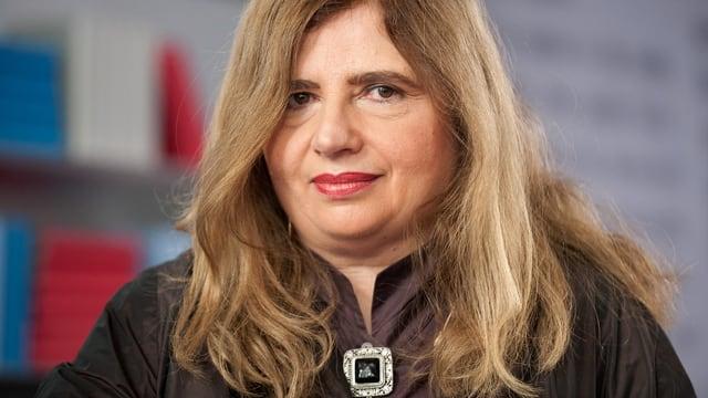 Ein Porträt von Sibylle Lewitscharoff.