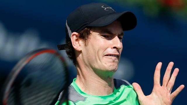 Nahaufnahme von Andy Murray.