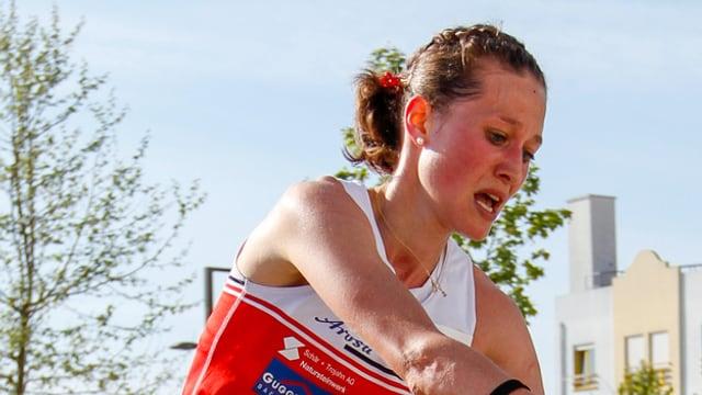 Judith Wyder wurde den hohen Erwartungen im Sprint gerecht.