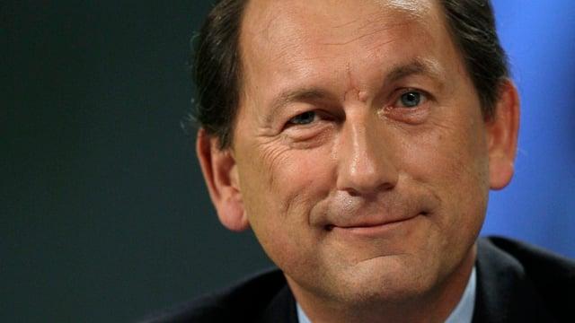 Porträtbild von Konzernchef Paul Bulcke