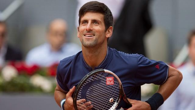Ina fotografia da Novak Djokovic.
