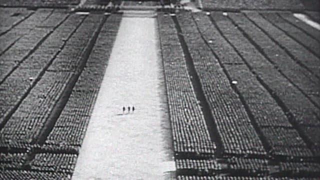 Bild eines Reichsparteitages 1935.