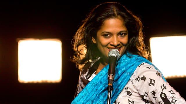 Die Schauspielerin MD Pallavi