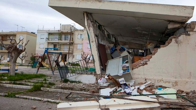 Erdbeben mit hohen Schäden, wie in Griechenland im Februar 2014, sind in der Schweiz statistisch alle 100 Jahre möglich.