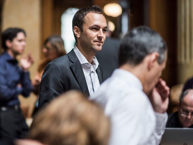 Mathias Reynard im Nationalrat