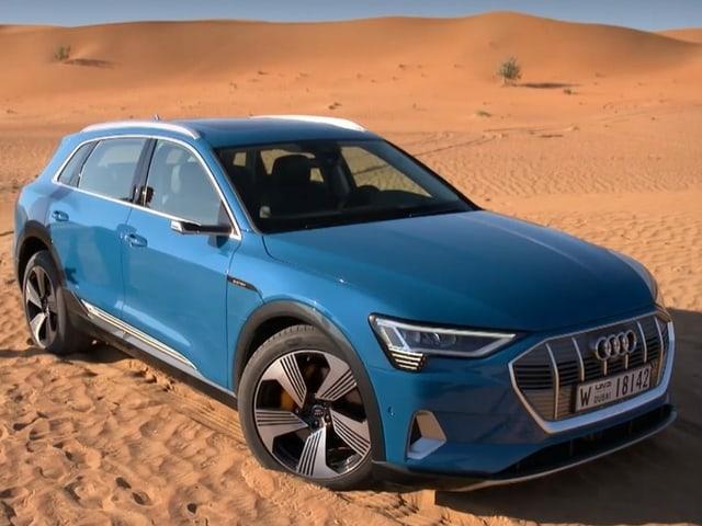 Das bestplatzierte Elektroauto im Sand