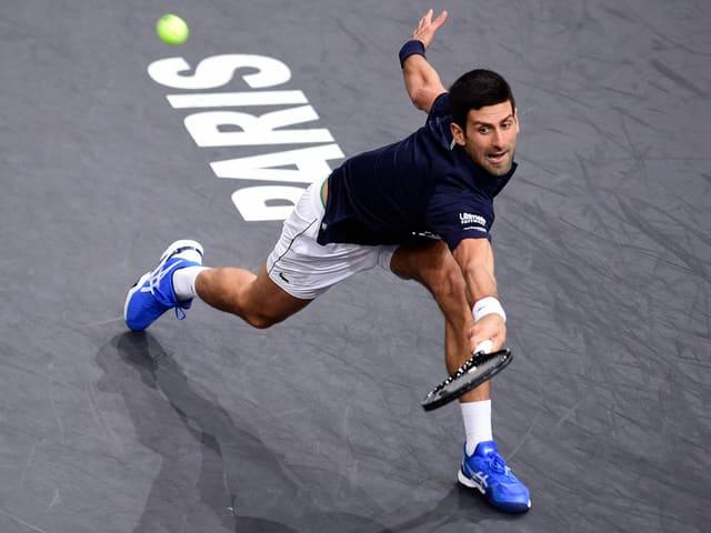 Novak Djokovic in Paris-Bercy