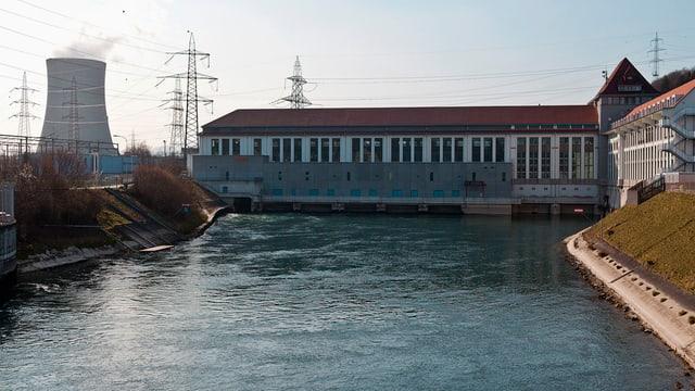 Nur Wasser- oder auch Atomstrom? Die Stimmbevölkerung entscheidet am 3. März.