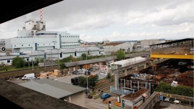 Foto der heutigen Industrieanlage