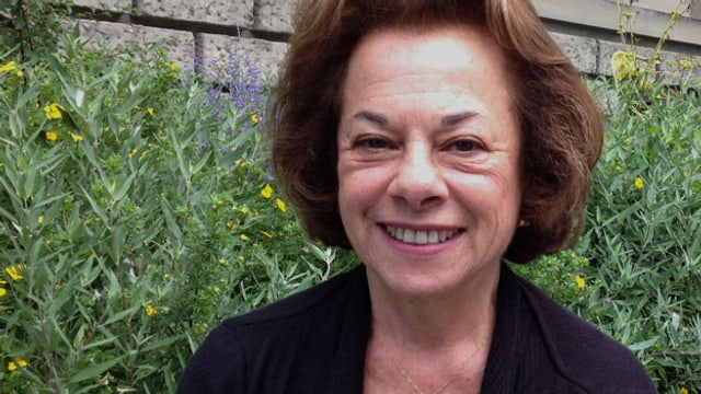 Porträt von Doris Ryffel.