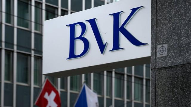 BVK-Logo in Zürich