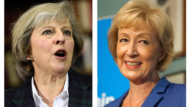 Theresa May und Andrea Leadsom.