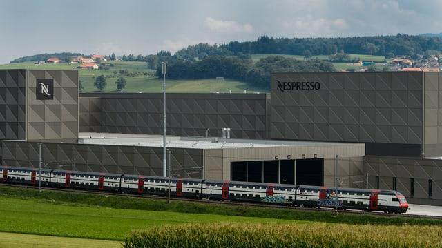Eine neue Fabrik.
