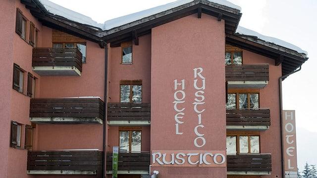 Hotel Rustico in Laax
