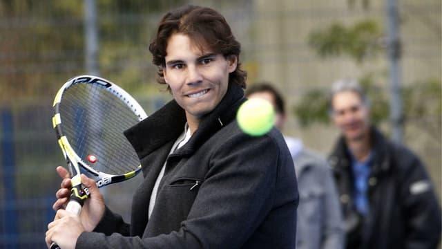 Rafael Nadal wird bald auch wieder in Tennis-Kleidern zu sehen sein.