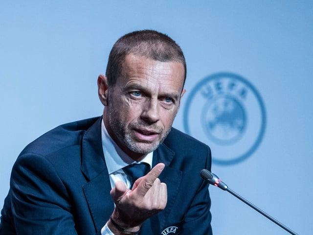 Uefa-Präsident Aleksander Ceferin.