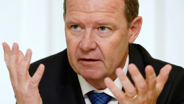 Valentin Vogt, Verwaltungsratspräsident von Burckhardt Compression