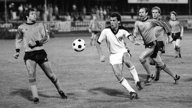 Ottmar Hitzfeld beim FC Lugano.