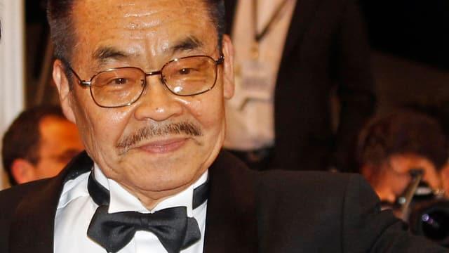 Lächelt zufrieden am Filmfestival von Cannes: Yoshihiro Tatsumi.